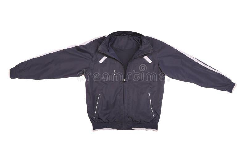 Куртка спорта голубая и белая. стоковые фото