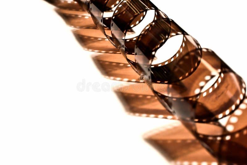 курчавая спираль пленки стоковое изображение rf