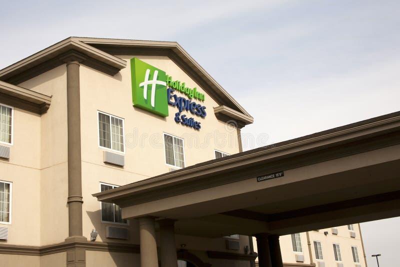 курьерская гостиница Холидей стоковое изображение