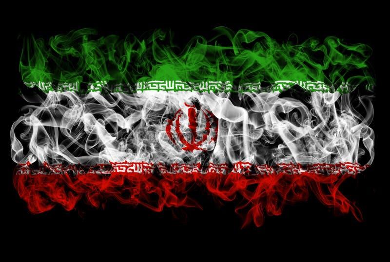 Куря флаг Ирана бесплатная иллюстрация