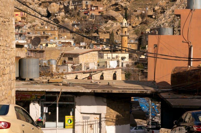 Курдистан Akre Aqrah Ирака стоковая фотография