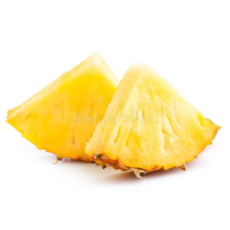 Куски ананаса стоковое изображение