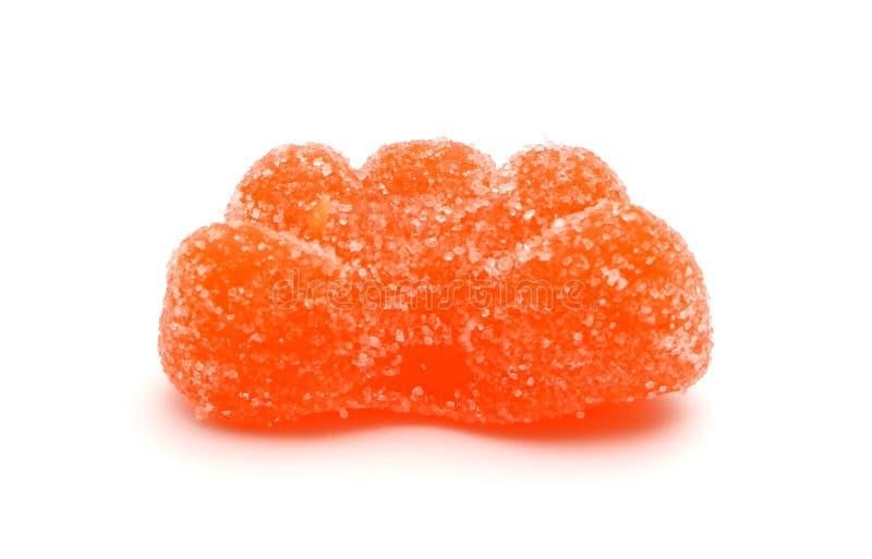 Куски апельсина конфеты стоковые изображения rf