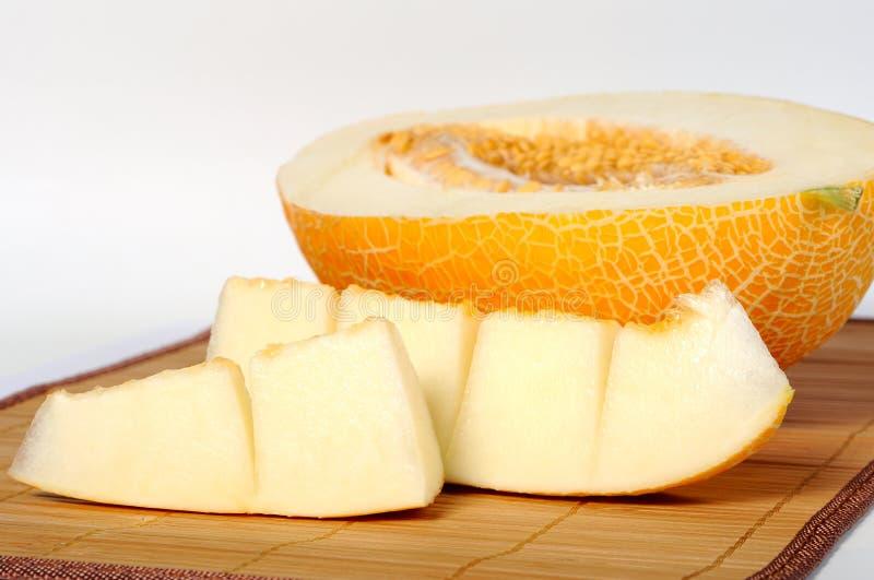 Download Куски дыни стоковое изображение. изображение насчитывающей vegetarian - 33725021