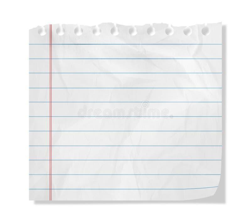 Кусок бумаги стоковое фото rf