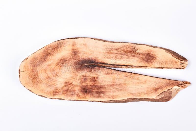 Кусок древесины, взгляд сверху стоковое фото