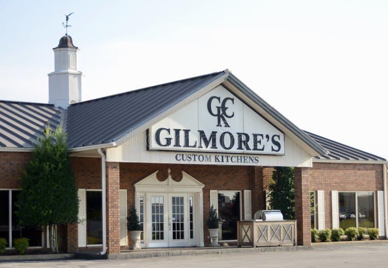 Кухни ` s Gilmore изготовленные на заказ, Jonesboro, Арканзас стоковое изображение