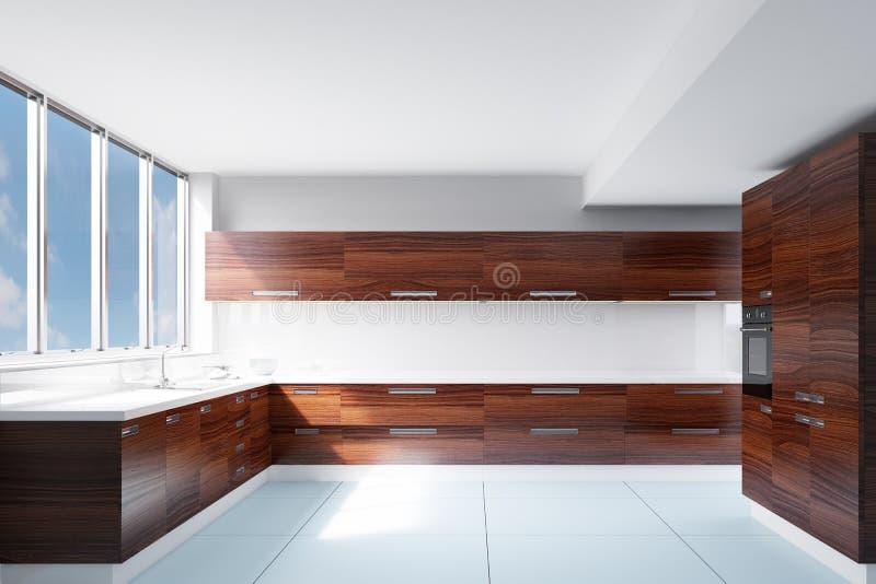 Кухня в солнечном свете бесплатная иллюстрация