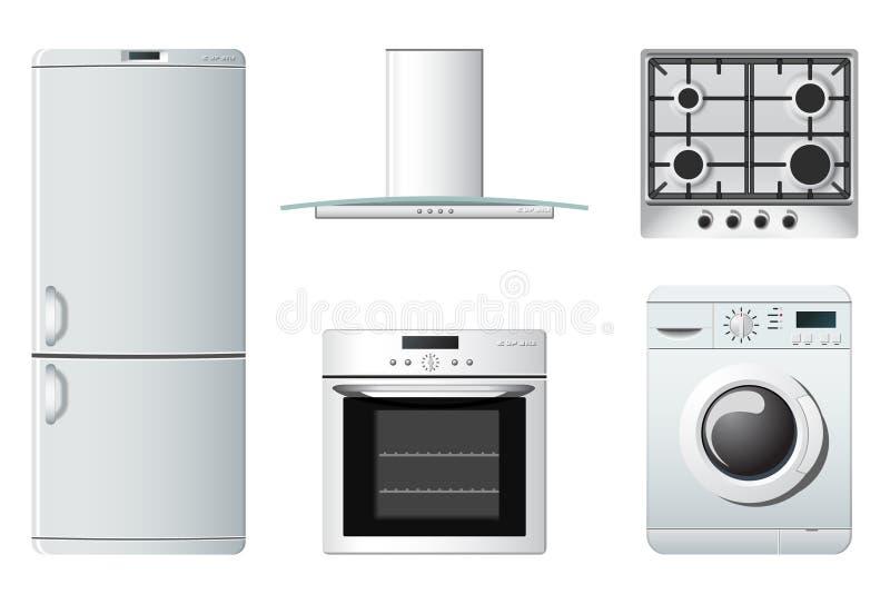 кухня домочадца приборов бесплатная иллюстрация