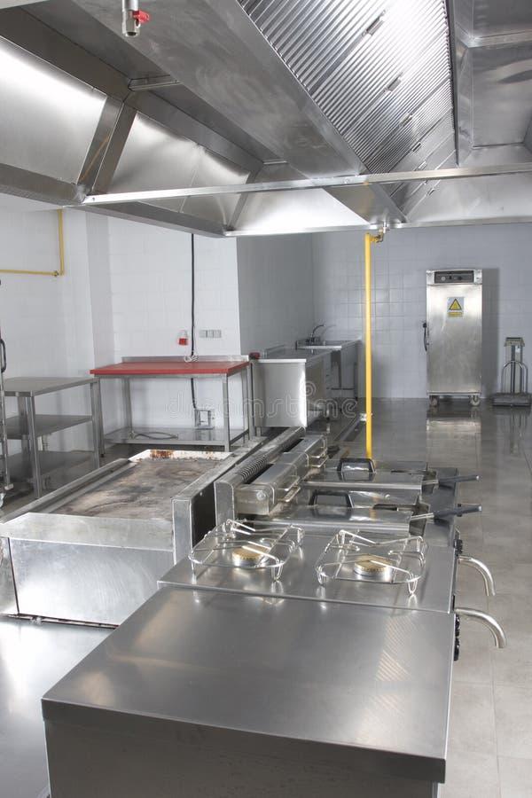 кухня оборудования стоковое изображение