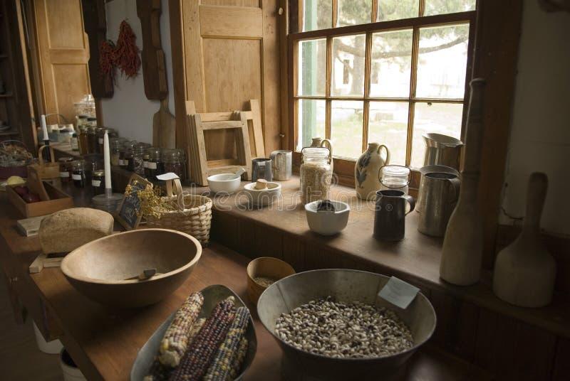 кухня оборудования стоковое фото rf
