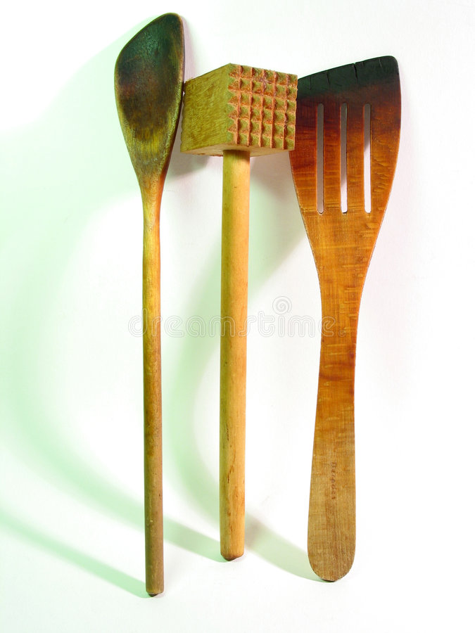 кухня оборудует деревянное стоковые фото