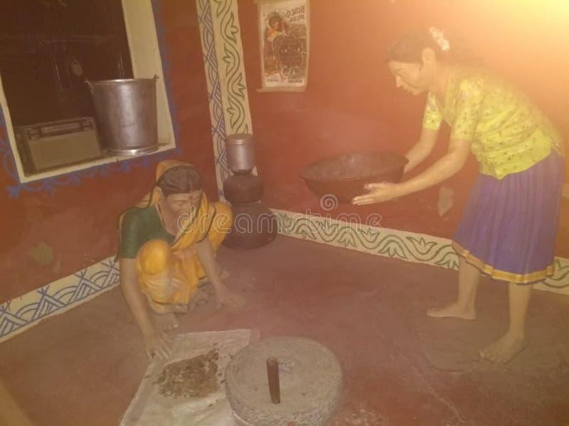 Кухня - простота в работе домочадца стоковое изображение