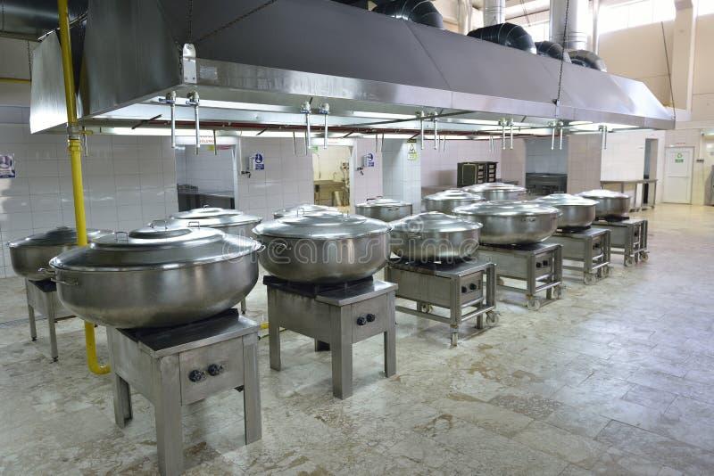 Кухня ресторана стоковые изображения rf
