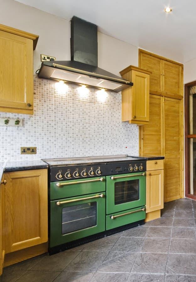 кухня ретро стоковая фотография