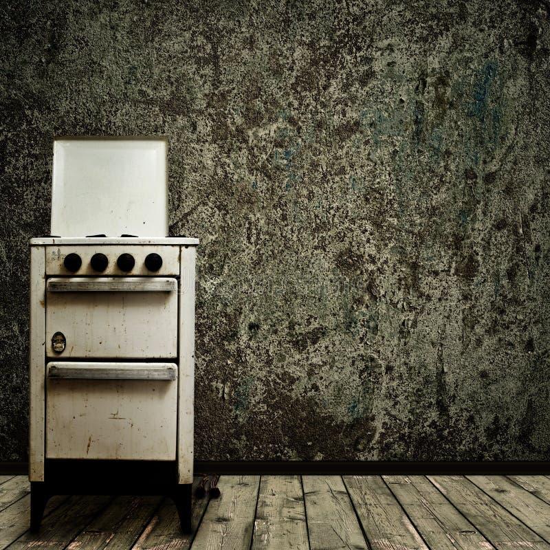 кухня старая стоковая фотография