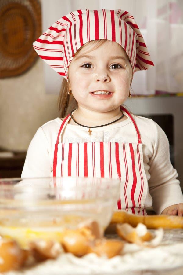 кухня шеф-повара немногая стоковая фотография rf