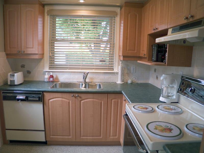 кухня 22 самомоднейшая стоковое изображение rf