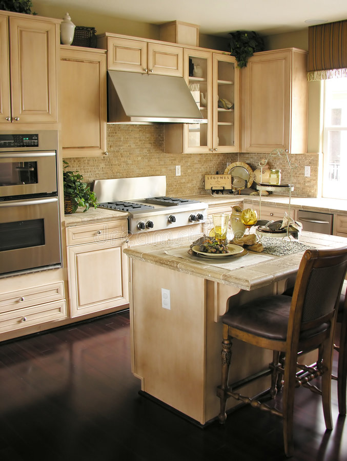 кухня стоковые изображения rf
