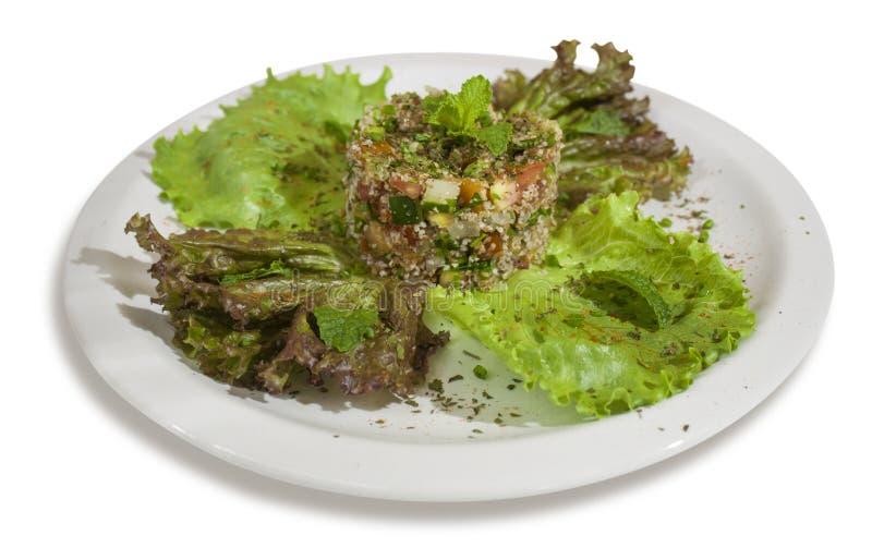 Кухня fatouch салата арабская стоковая фотография