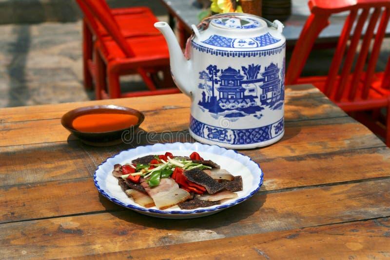кухня sichuan стоковое изображение rf