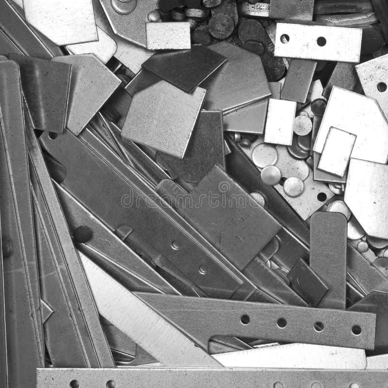 Куча деталей металла стоковая фотография