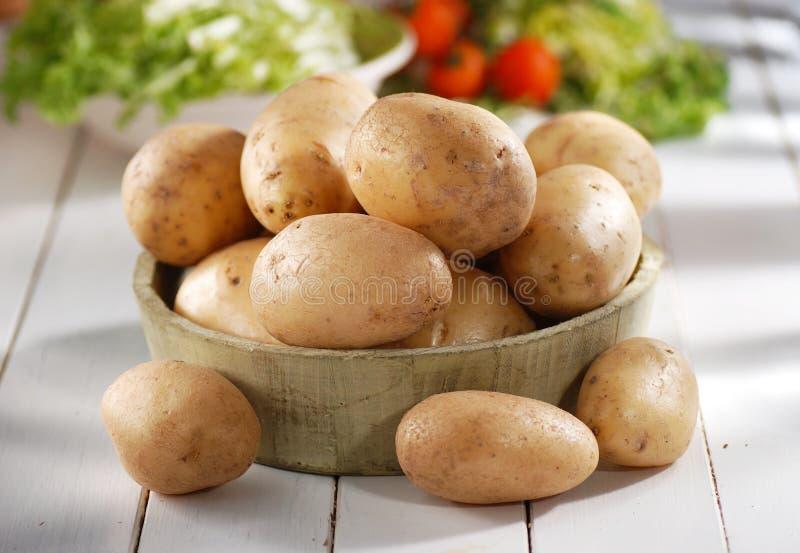 Куча картошек стоковая фотография