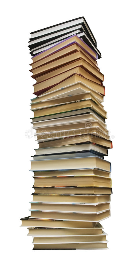 куча книги стоковые фотографии rf