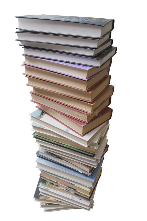 куча книги стоковая фотография rf