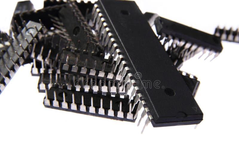 Download Куча микропроцессоров стоковое изображение. изображение насчитывающей интегрировано - 40585801