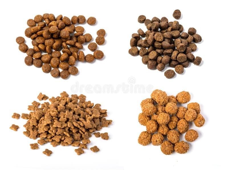 Куча сухой собачьей еды стоковые изображения