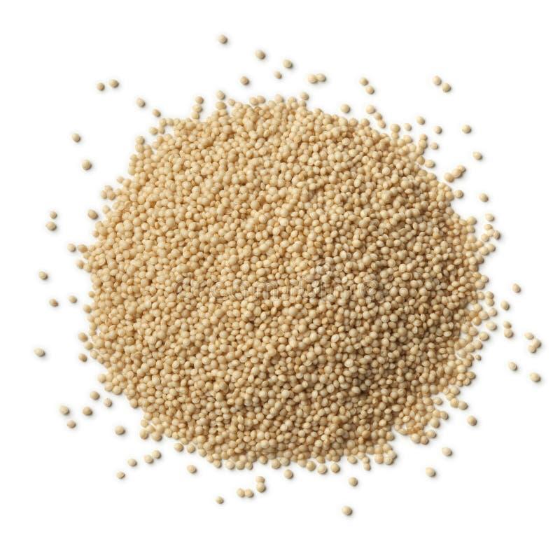 Куча сырцовых семян амаранта стоковое фото