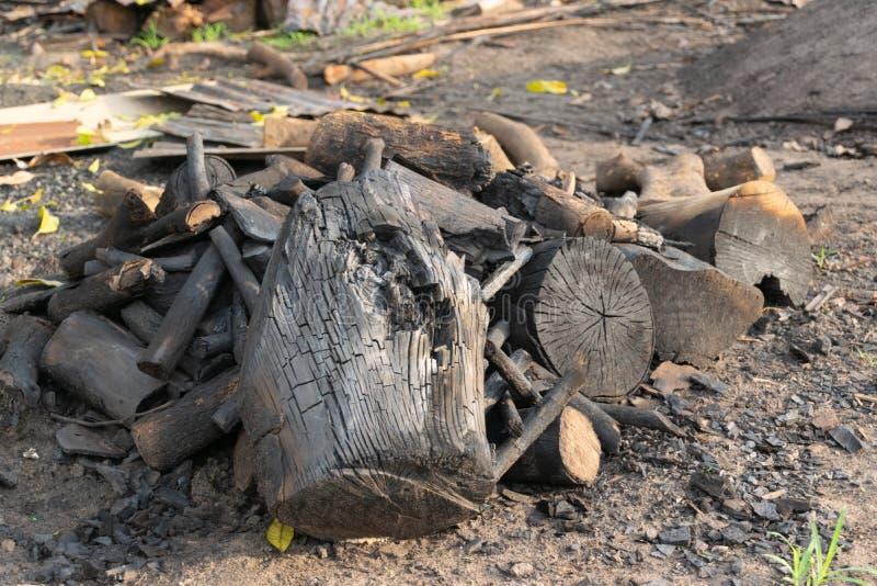 Куча угля в Таиланде стоковое фото rf