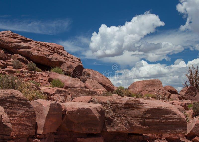 Куча утеса гранд-каньона стоковое фото rf