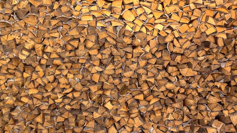 Куча швырка для камина, печи Стена стогов Журнал, тимберс, огонь, текстура стоковая фотография