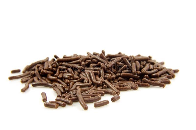 куча шоколада голландская брызгает стоковое фото rf