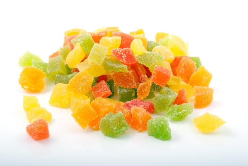 Куча candied плодоовощ стоковая фотография rf
