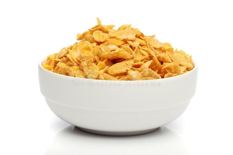 куча cornflakes шара стоковое изображение rf
