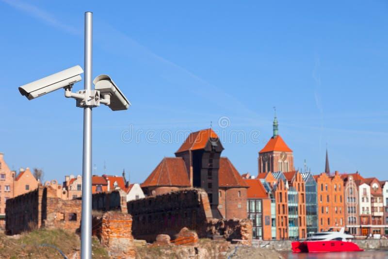 Кулачок безопасностью CCTV стоковые фото