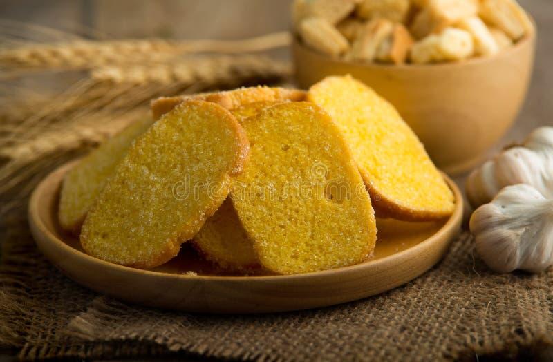 Кудрявый хлеб здравицы стоковое фото rf