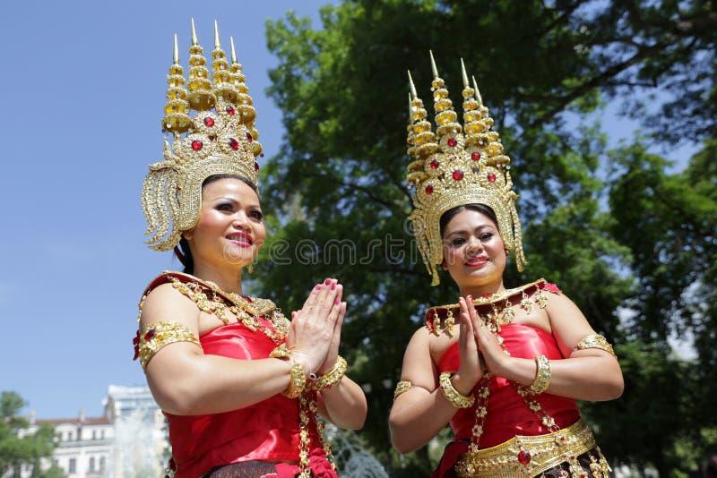 Культура Таиланда (тайская) стоковое фото rf
