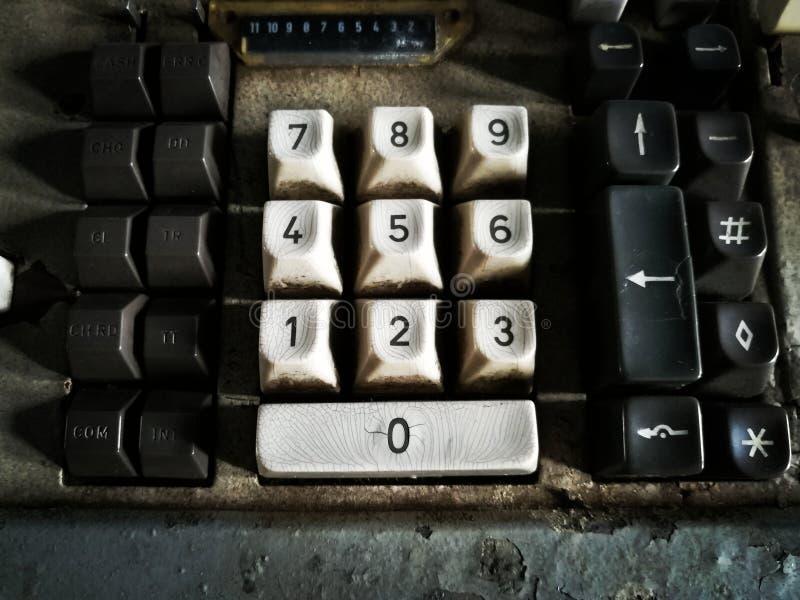 Клавиатура номера стоковая фотография rf