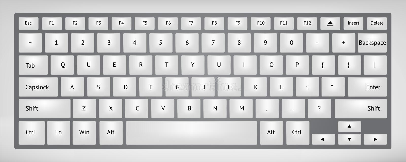 Клавиатура иллюстрация вектора