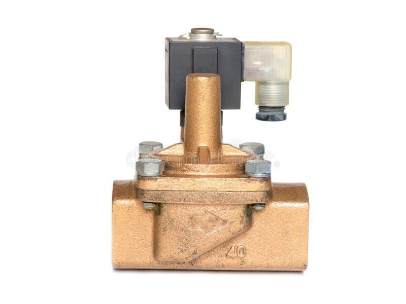Клапан соленоида стоковые фотографии rf