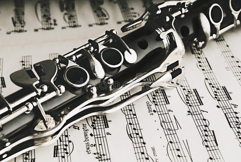 Кларнет стоковая фотография rf