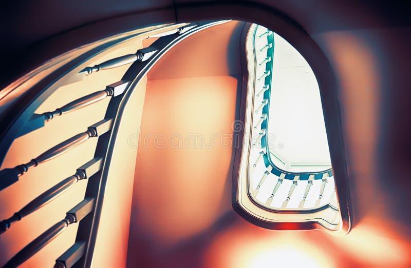 Классицистические лестницы стоковая фотография rf