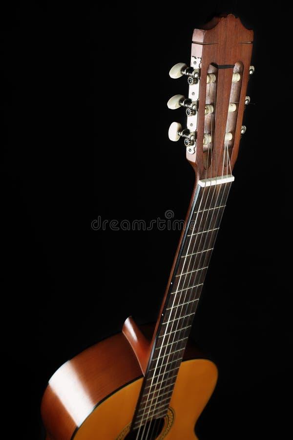Классическая голова гитары стоковые фото