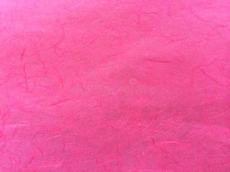 Классическая розовая картина конспекта бумаги шелковицы используемая как текстура предпосылки шаблона стоковая фотография