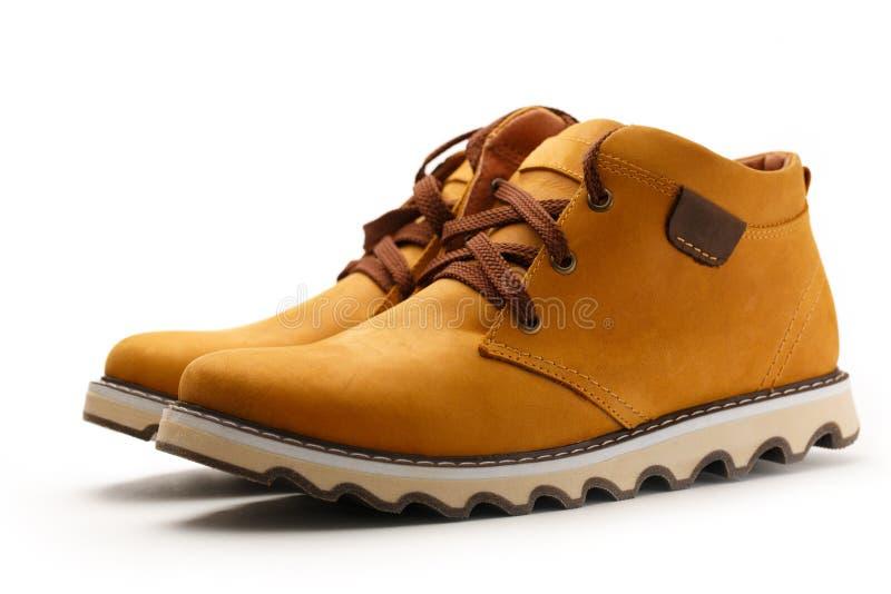 Классические мужские ботинки стоковая фотография rf