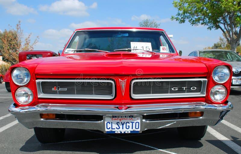 Классический автомобиль мышцы Pontiac GTO стоковые фотографии rf